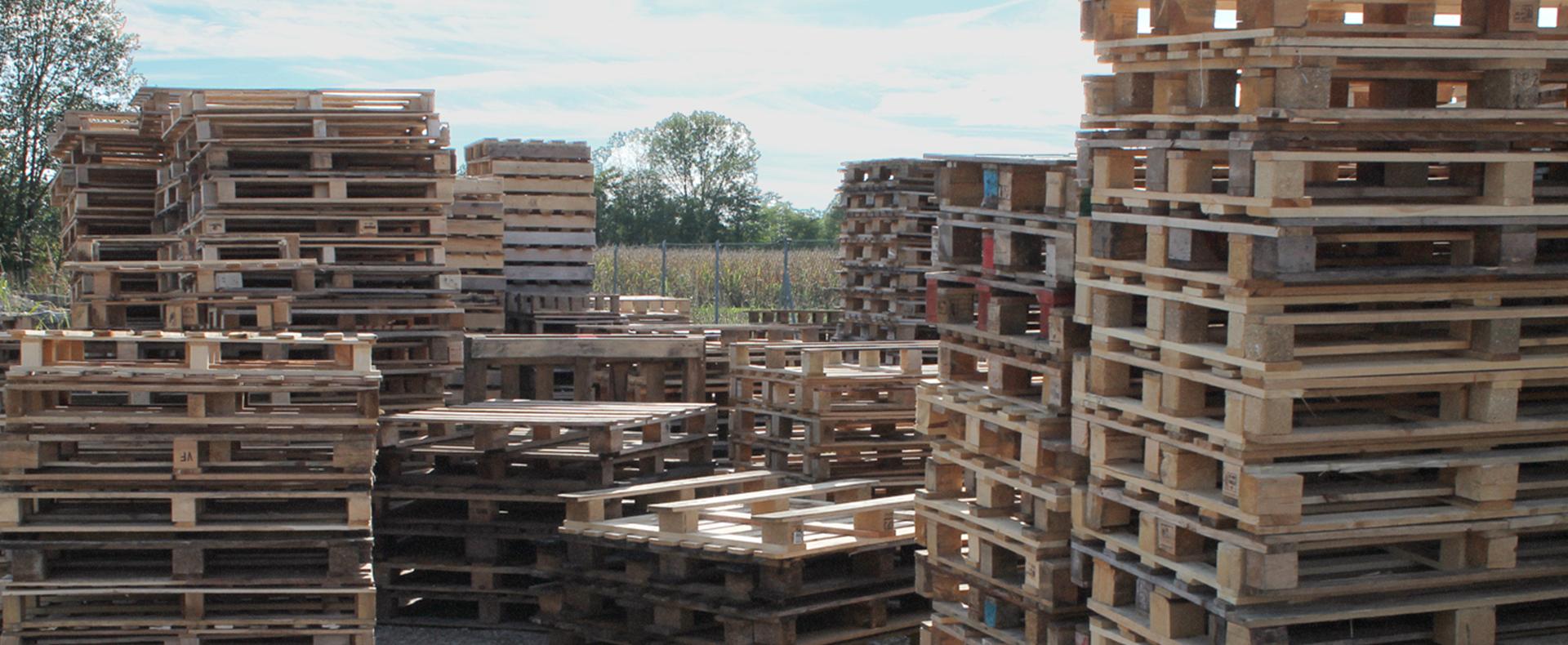 bancali in legno usati